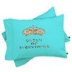 DENY Designs Bianca Green Queen Of Everything Pillowcase