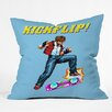 DENY Designs Robert Farkas Epic Kickflip Throw Pillow