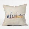 DENY Designs Chelsea Victoria Aloha Hawaii Throw Pillow