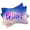 DENY Designs Leah Flores Believe x Clouds Pillowcase