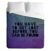 DENY Designs Leah Flores Lost x Found Lightweight Duvet Cover