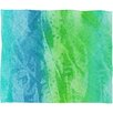 DENY Designs Caribbean Sea Fleece by Laura Trevey Polyester Throw Blanket