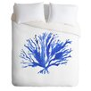 DENY Designs Sea Coral by Laura Trevey Lightweight Duvet Cover