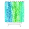 DENY Designs Caribbean Sea by Laura Trevey Shower Curtain