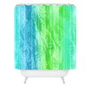 DENY Designs Caribbean Sea by Laura Trevey Shower Curtain