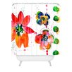 DENY Designs Summer in Watercolor by Laura Trevey Shower Curtain