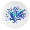 DENY Designs Sea Coral By Laura Trevey Clock