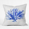 DENY Designs Sea Coral by Laura Trevey Throw Pillow