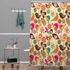 DENY Designs Valentina Ramos Little Birds Shower Curtain