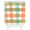 DENY Designs Zoe Wodarz Pastel Plaid Shower Curtain