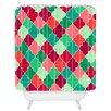 DENY Designs Jacqueline Maldonado Morocco Christmas Shower Curtain