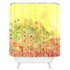 DENY Designs Rosie Brown Jeweled Pebbles Shower Curtain