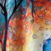 DENY Designs Madart Inc. Aqua Burn Extra Long Shower Curtain
