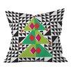 DENY Designs Zoe Wodarz Geo Pop Tree Throw Pillow