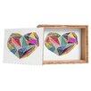 DENY Designs Mareike Boehmer Heart Graphic 5 X Storage Box