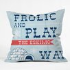DENY Designs Heather Dutton Frolic and Play Throw Pillow