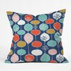 DENY Designs Heather Dutton Snowflake Holiday Bobble Chill Throw Pillow