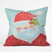 DENY Designs Cori Dantini Sweet Santa Throw Pillow