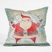 DENY Designs Cori Dantini Joyous Holiday Wishes Throw Pillow