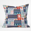 DENY Designs Heather Dutton Christmas Collage Chille Throw Pillow