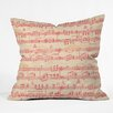 DENY Designs Cori Dantini Magical Holiday Wishes Throw Pillow