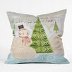 DENY Designs Cori Dantini Christmas Throw Pillow