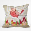 DENY Designs Cori Dantini New Bird In Town Throw Pillow