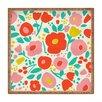 DENY Designs Zoe Wodarz Delightful Floral Tray