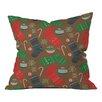 DENY Designs Pimlada Phuapradit Christmas Ornaments Throw Pillow