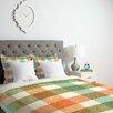 DENY Designs Zoe Wodarz Pastel Plaid Duvet Cover