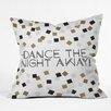 DENY Designs Zoe Wodarz Dance The Night Away Indoor/Outdoor Throw Pillow