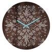 """DENY Designs 12"""" Iveta Abolina Floral Round Clock"""