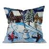 DENY Designs Renie Britenbucher Snow Angels Throw Pillow
