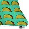 DENY Designs Leah Flores Taco Party Throw Pillow