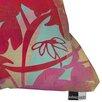DENY Designs Barbara Chotiner Pinky Susan Florals Throw Pillow