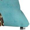 DENY Designs Coco De Paris Giraffe with Leaf Indoor/Outdoor Throw Pillow