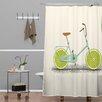 DENY Designs Florent Bodart Acid Polyester Shower Curtain