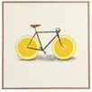 DENY Designs Zest I by Florent Bodart Framed Painting Print