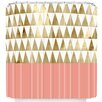 DENY Designs Georgiana Paraschiv Triangles Shower Curtain