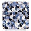 DENY Designs Elisabeth Fredriksson Cube Shower Curtain