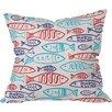 DENY Designs Zoe Wodarz Catch Of The Day Polyester Throw Pillow