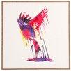 DENY Designs 'The Great Emerge' Robert Farkas Framed Graphic Art