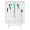 DENY Designs Iveta Abolina Feather Shower Curtain
