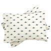 DENY Designs Social Proper Bla Blomst Pillowcase (Set of 2)