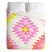 DENY Designs Dash and Ash Chelsea and Coral Duvet Cover