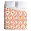 DENY Designs Heather Dutton Fleurette Radiant Duvet Set