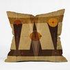 DENY Designs Viviana Gonzalez Geometric Abstract 4 Throw Pillow