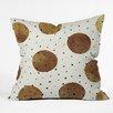 DENY Designs Georgiana Paraschiv Mixed Dots Throw Pillow