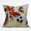 DENY Designs Ginette Acorns in the Snow Throw Pillow