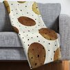 DENY Designs Georgiana Paraschiv Mixed Dots Throw Blanket